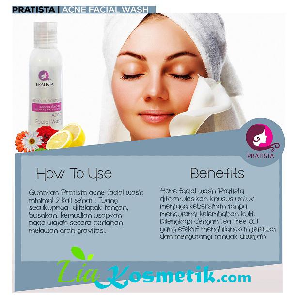 cara-pemakain-acne-facial-wash-pratista