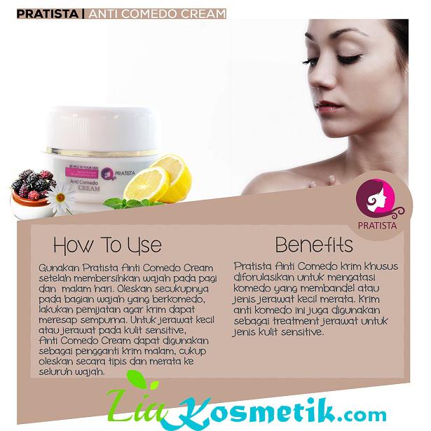 Obat Cream Penghilang Komedo Pratista Ampuh Dan Terbukti