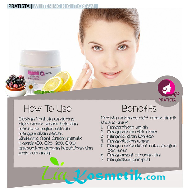how-to-use-and-benefits-whitening-night-cream-pratista